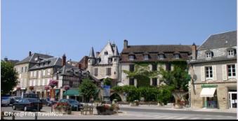 Beau-lieu sur Dordogne center